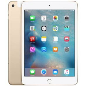 $279.99 iPad Mini 4 WiFi + Cellular 16GB  Gold