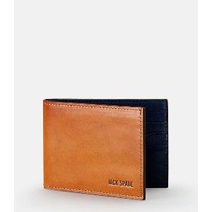 Mitchell Leather Index Wallet - JackSpade