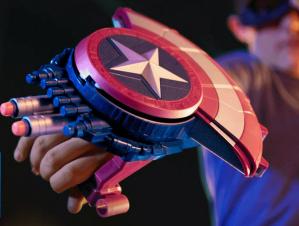 $14.83(reg.$19.99) Marvel Captain America: Civil War Blaster Reveal Shield