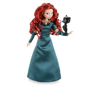 Merida Classic Doll with Bear Cub Figure - 12'' | Disney Store