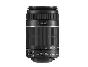 $99.99EF-S 55-250mm f/4-5.6 IS II Refurbished