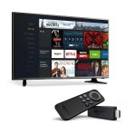 $119 Hisense 32-Inch 720p LED TV with Fire TV Stick