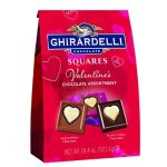 Ghirardelli Valentines Day Chocolate Assortment, Milk Chocolate, 18.3 Ounce