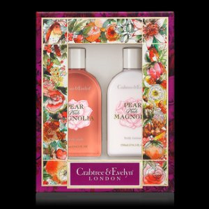Pear and Pink Magnolia Bath & Body Duo - Crabtree & Evelyn