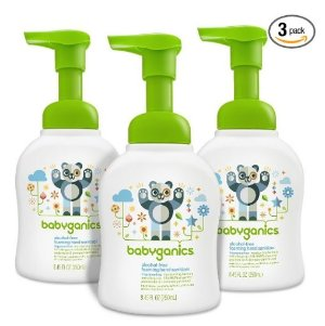 $8.52Babyganics Alcohol-Free Foaming Hand Sanitizer, Fragrance Free, 8.45oz Pump Bottle (Pack of 3)