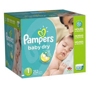 From $25Pampers Economy Pack Plus Baby Diapers