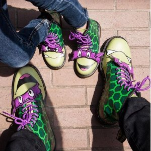Up to 54% Off Dr. Martens Kid's Collection Ninja Turtles Donnie @ 6PM.com