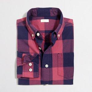 Boys' Patterned Washed Shirt : Boys' Shirts | J.Crew Factory