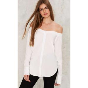 Stina Off-the-Shoulder Shirt