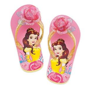 Belle Flip Flops for Kids | Disney Store