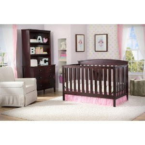 $168.98 Delta Gateway 4-in-1 Crib and Mattress Value Bundle