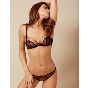 Lorna Bra Black and Red - View All Valentine's Day - Valentines Day