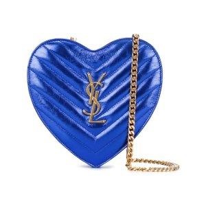 Saint Laurent Min 'love' Crossbody Heart Bag - Liska