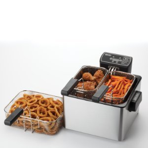 $39.48 Aroma Smart Fry XL ADF-232 4-Quart Digital Deep Fryer