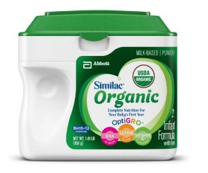 $107.18 Similac Advance Organic Infant Formula with Iron, Powder, 23.2 Ounces (Pack of 6)