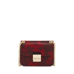 MICHAEL Michael Kors Sloan Medium Lace-Print Chain Shoulder Bag