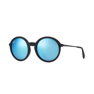 Ray-Ban RB4222 Black, Blue Lenses | Ray-Ban® USA