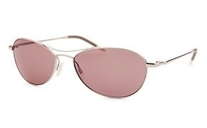 Dealmoon Exclusive: $99Oliver People's Women's Aero Oval Silver-Tone Sunglasses