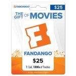 Fandango $25 Gift Card + Free $5 Best Buy Gift Card
