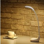 Deckey Table Lamp Atmosphere Light Golf LED Night Light Bedroom Light Bedside Light USB Charger,3 Color Modes