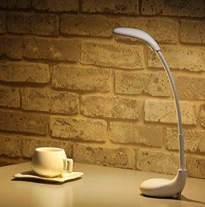 $8.23Deckey Table Lamp Atmosphere Light Golf LED Night Light Bedroom Light Bedside Light USB Charger,3 Color Modes