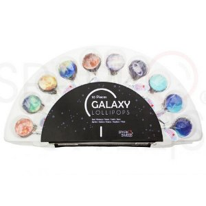 Galaxy Lollipops™ 10 Planet Designs with Exquisite Gift Pack