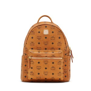 Small STARK BACKPACK in Black by MCM