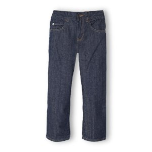Boys Basic Loose Jeans - Rinse Wash   The Children's Place