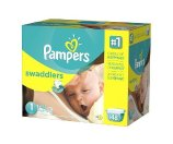 Pampers Swaddlers Diapers Size 1 Giant Pack | Walgreens