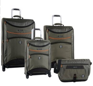 Timberland Luggage Route 4 Four Piece Custom Expandable Spinner