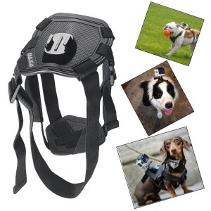 BAXIA TECHNOLOGY Dog Harness Chest Mount for GoPro HERO