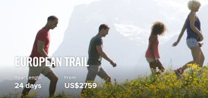 From $2759 24 Days European Trail