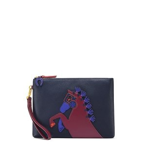 Tory Burch Horse Large Pouch