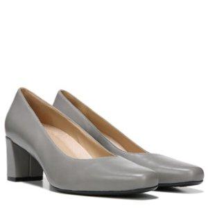 Naturalizer Keela 灰色皮鞋