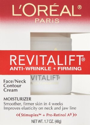 L'Oreal Paris RevitaLift Anti Wrinkle + Firming Face/Neck Contour Cream