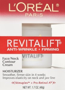 L'Oreal Paris RevitaLift Anti Wrinkle + Firming Face/Neck Contour Cream