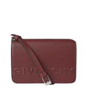 Givenchy Debossed Logo Bag Oxblood | Harrods