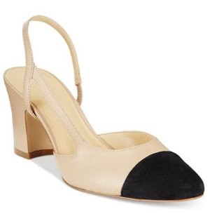25% Off With Ivanka Trump Liah Slingback Block-Heel Pumps @ Lord & Taylor