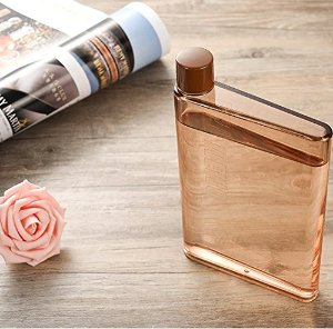 $10.98 Dandyd A5 Memo Paper Bottle Flat Portable Notebook Water Bottle BPA Free for School Activity Outdoor Sports