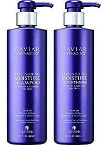 $47.88Alterna Caviar Anti-Aging Replenishing Moisture DUO: Shampoo and Conditioner (16.5 oz Each)
