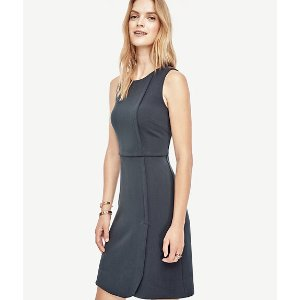 Faux Wrap Dress | Ann Taylor