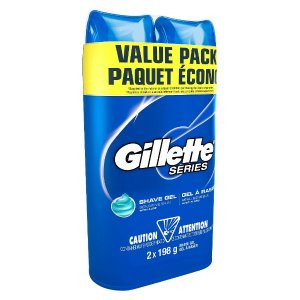 $11.16 Gillette TGS Series Shave Gel Sensitive Twin Pack(x4)