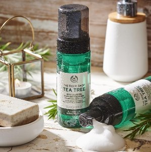 Buy 3 Get 2 FreeTea Tree Collection @ The Body Shop