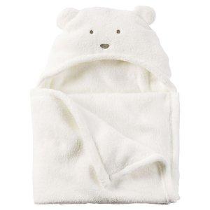 Baby Boy Sherpa Hooded Blanket | Carters.com