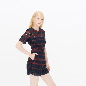Fusion Playsuit - Pants & Shorts - Sandro-paris.com