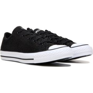 Converse Chuck Taylor All Star Low Stingray Leather Sneaker Black