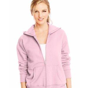 Hanes Women's Zip Hoodie Sweatshirt
