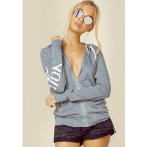 Sundry you + me love land zip hoodie