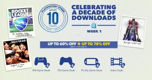 Up to 60% Off  + Up to 70% Off for PS+ PlayStation Store 10th Anniversary Sale Week 1