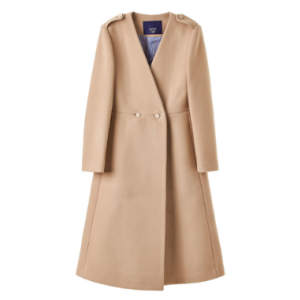 [Luckychouette] Simple A-Line Coat